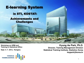 Workshop on HRM and Training in Statistical Office Sept. 5~7. 2012,  Hungary
