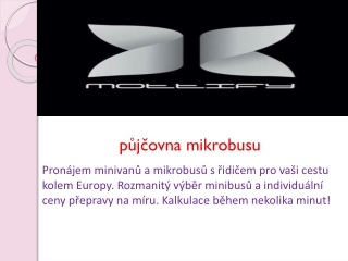 půjčovna mikrobusu