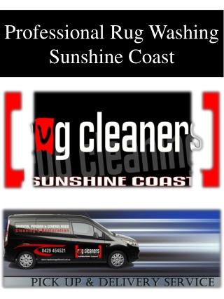 Professional Rug Washing Sunshine Coast
