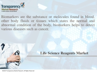 Cancer Biomarkers Market to Register a Promising 11.80% CAGR Between 2017 and 2025
