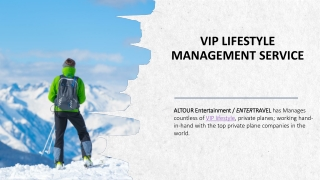 VIP Lifestyle Management Service
