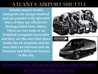 Have You Heard Atlanta Party Ride Is Best for Atlanta Airport Shuttle