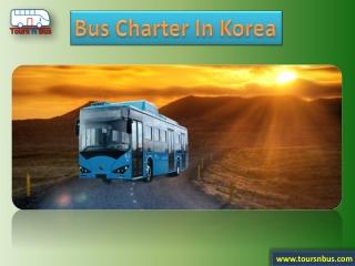 Bus Charter In Korea