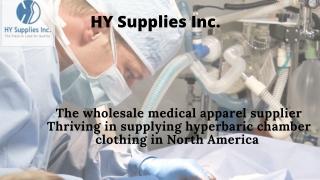 Hyperbaric supplies - HY Supplies Inc