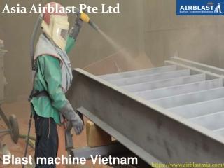 Blast machine Vietnam