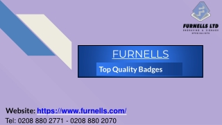 Top Quality Badges
