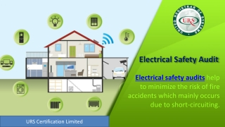 Scope of Electrical Safety Audit