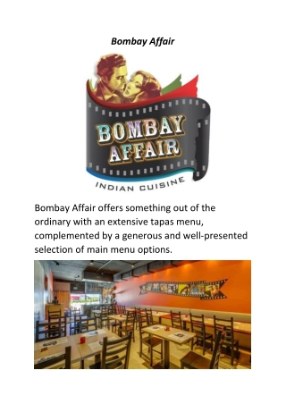 Bombay Affair