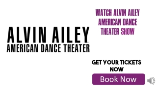 Cheap Alvin Ailey American Dance Theater Tickets