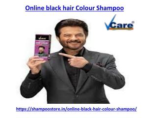 Buy the online black hair colour shampoo