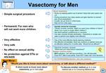 Vasectomy for Men