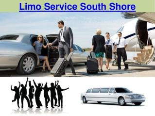 Limo Service South Shore