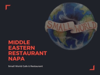 Middle Eastern Restaurant Napa