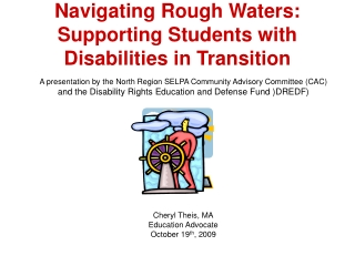 Navigating Rough Waters:  Supporting Students with Disabilities in Transition