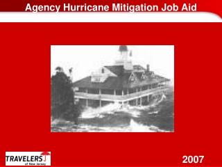 Agency Hurricane Mitigation Job Aid