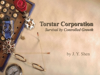 Torstar Corporation Survival by Controlled Growth
