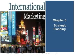 Chapter 6  Strategic Planning
