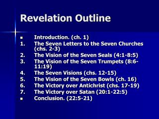 Revelation Outline