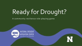 Ready for Drought?