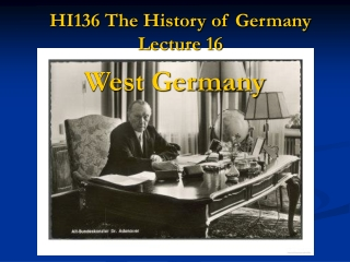HI136 The History of Germany Lecture 16