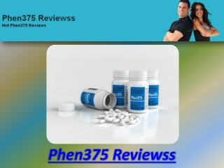 Phen375 Reviewss