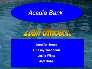 Loan Officers: