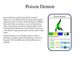 Poison Demon