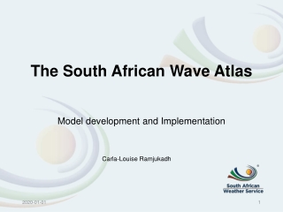 The South African Wave Atlas