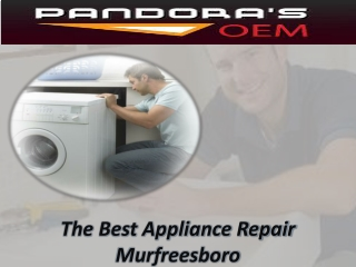 Appliance Repair Service Murfreesboro