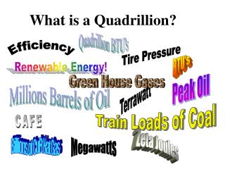 What is a Quadrillion?