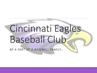 Cincinnati Eagles Baseball Club