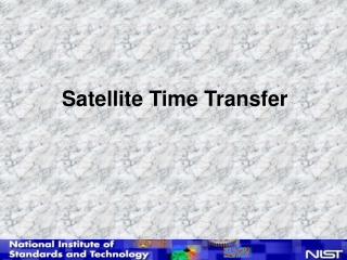 Satellite Time Transfer
