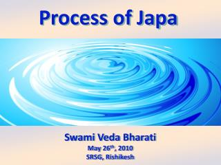 To understand  the process of Japa, understand different layers of the mind