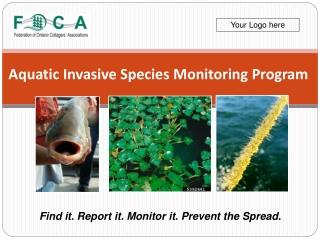Aquatic Invasive Species Monitoring Program