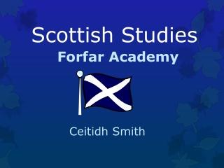 Scottish Studies