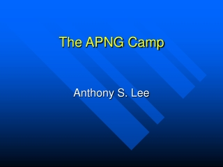 The APNG Camp