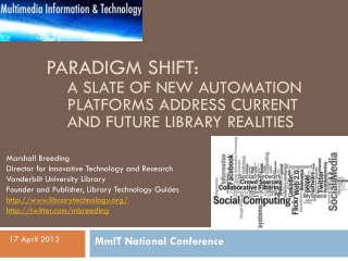 Paradigm Shift: