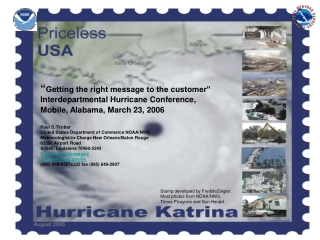 Paul S. Trotter United States Department of Commerce NOAA/NWS