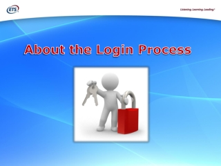About the Login Process