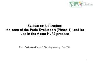 Evaluation Utilization: