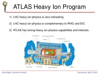 ATLAS Heavy Ion Program