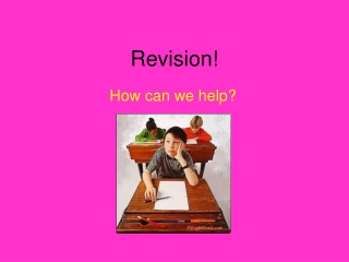 Revision!