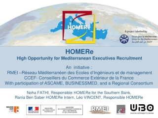 HOMERe High Opportunity for Mediterranean Executives Recruitment