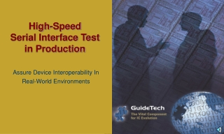 High-Speed Serial Interface Test in Production