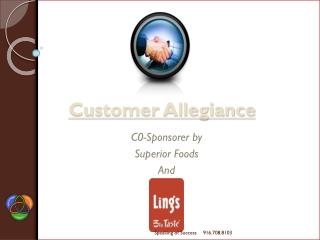 Customer Allegiance