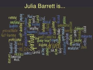 Julia's Awesome Brand Plan