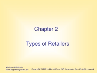 Types of Retailers