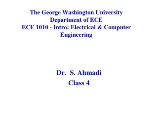 Dr.  S.  Ahmadi Class  4