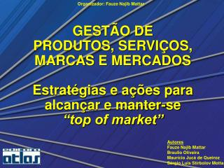 Capítulo 8  Plano de Marketing