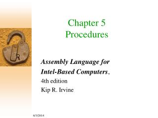Chapter 5 Procedures